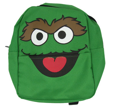 Oscar Face - Sesame Street Backpack