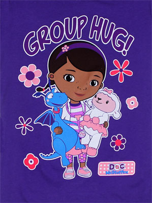 Group Hug! - Doc McStuffins Girls T-Shirt