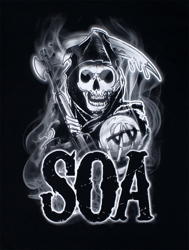 Smoke SOA Reaper - Sons Of Anarchy T-shirt