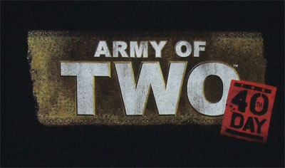 Army Of Two The 40th Day T-shirt
