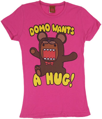Domo Wants A Hug! - Domo-Kun Sheer Women&#039;s T-shirt