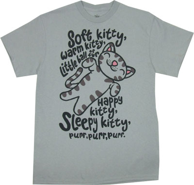 Soft Kitty - Big Bang Theory T-shirt