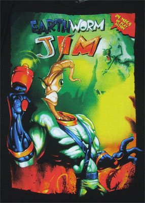 Earthworm Jim Sheer T-shirt