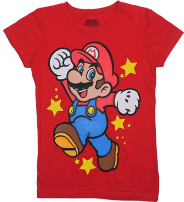 Mario - Nintendo Girls T-shirt
