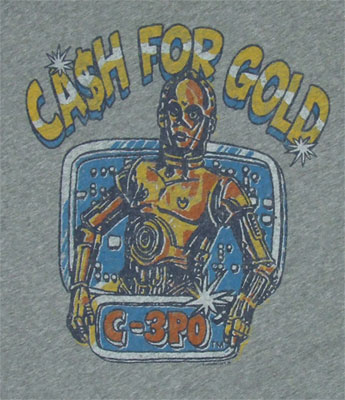 Cash For Gold - Star Wars - Junk Food Men's T-shirt