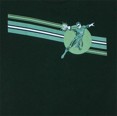Green Lantern Stripe - DC Comics T-shirt