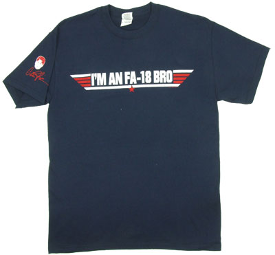 I&#039;m An FA-18 Bro - Charlie Sheen T-shirt