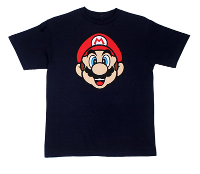 Mario Face - Nintendo Youth T-shirt