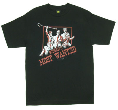 Gotham's Most Wanted - DC Comics T-shirt