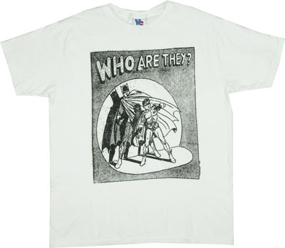 Who Are They? - Batman And Robin - Junk Food Men&#039;s T-shirt