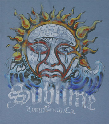 Faded Sun - Sublime T-shirt