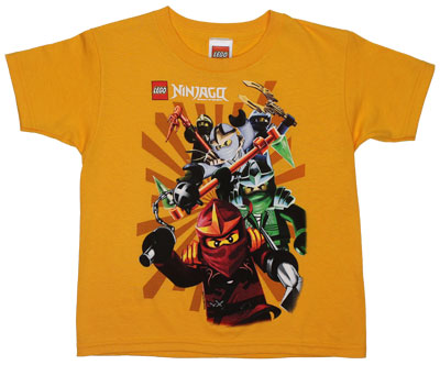 Ninja Herd - LEGO Ninjago Juvenile T-shirt