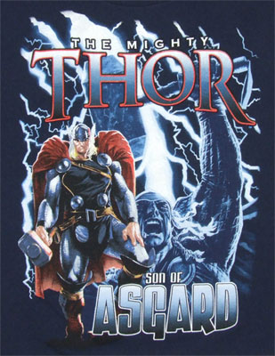 Son Of Asgard - The Mighty Thor Juvenile T-shirt