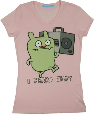 I Heard That - Ugly Doll Sheer Women&#039;s T-shirt