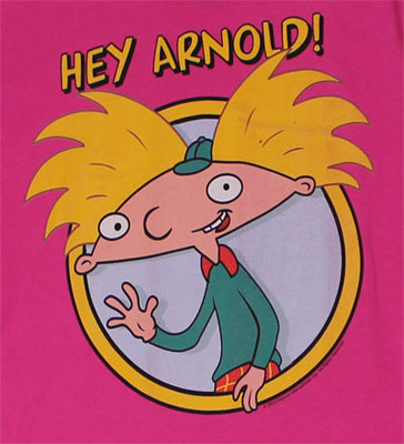 Hey Arnold! Sheer Women's T-shirt