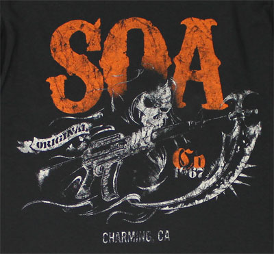 Charming, CA - Sons Of Anarchy Long Sleeve T-shirt