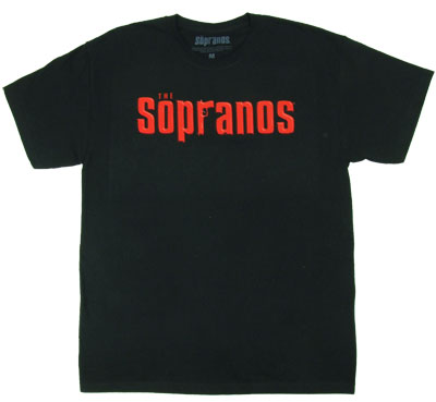 Sopranos Logo - The Sopranos T-shirt