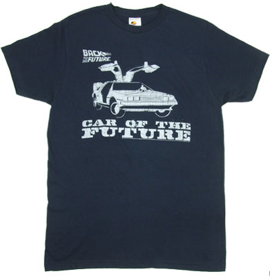 Car Of The Future - Back To The Future Sheer T-shirt