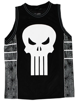 Punisher - Marvel Comics Basketball Jersey