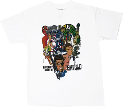 Nick Fury Agent Of S.H.I.E.L.D. - Marvel Comics T-shirt