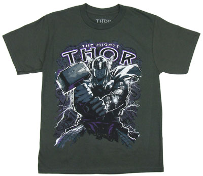 Source Of Power - The Mighty Thor - Marvel Comics Boys T-shirt