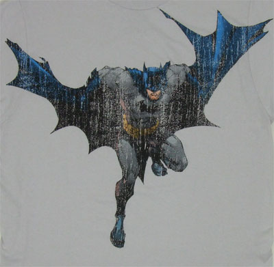 Distressed Batman - DC Comics T-shirt