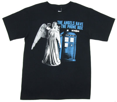 The Angels Have the Phone Box - Dr. Who T-shirt