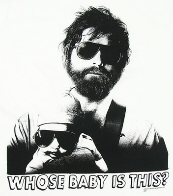 Whose Baby Is This - The Hangover T-shirt
