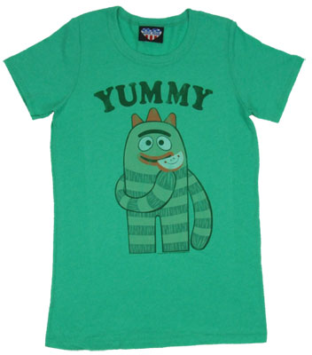Yummy - Yo Gabba Gabba - Junk Food Women's T-shirt