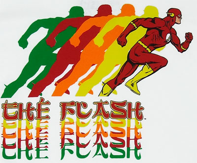 Flash Running - DC Comics T-shirt
