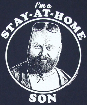 Stay At Home Son - Hangover II T-shirt
