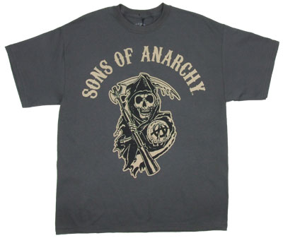 Sons Of Anarchy Logo - Sons Of Anarchy T-shirt