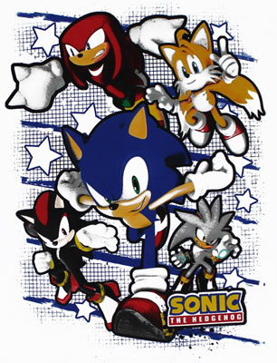 Sonic Team - Sonic The Hedgehog Youth T-shirt