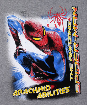 Arachnid Abilities - Amazing Spider-Man Youth T-shirt