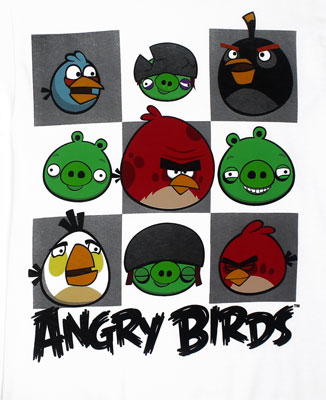 Gridlock - Angry Birds T-shirt