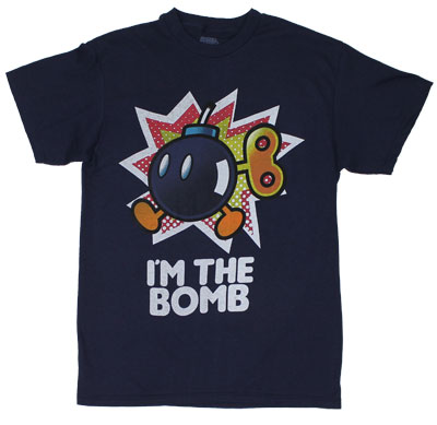 I&#039;m The Bomb - Nintendo T-shirt