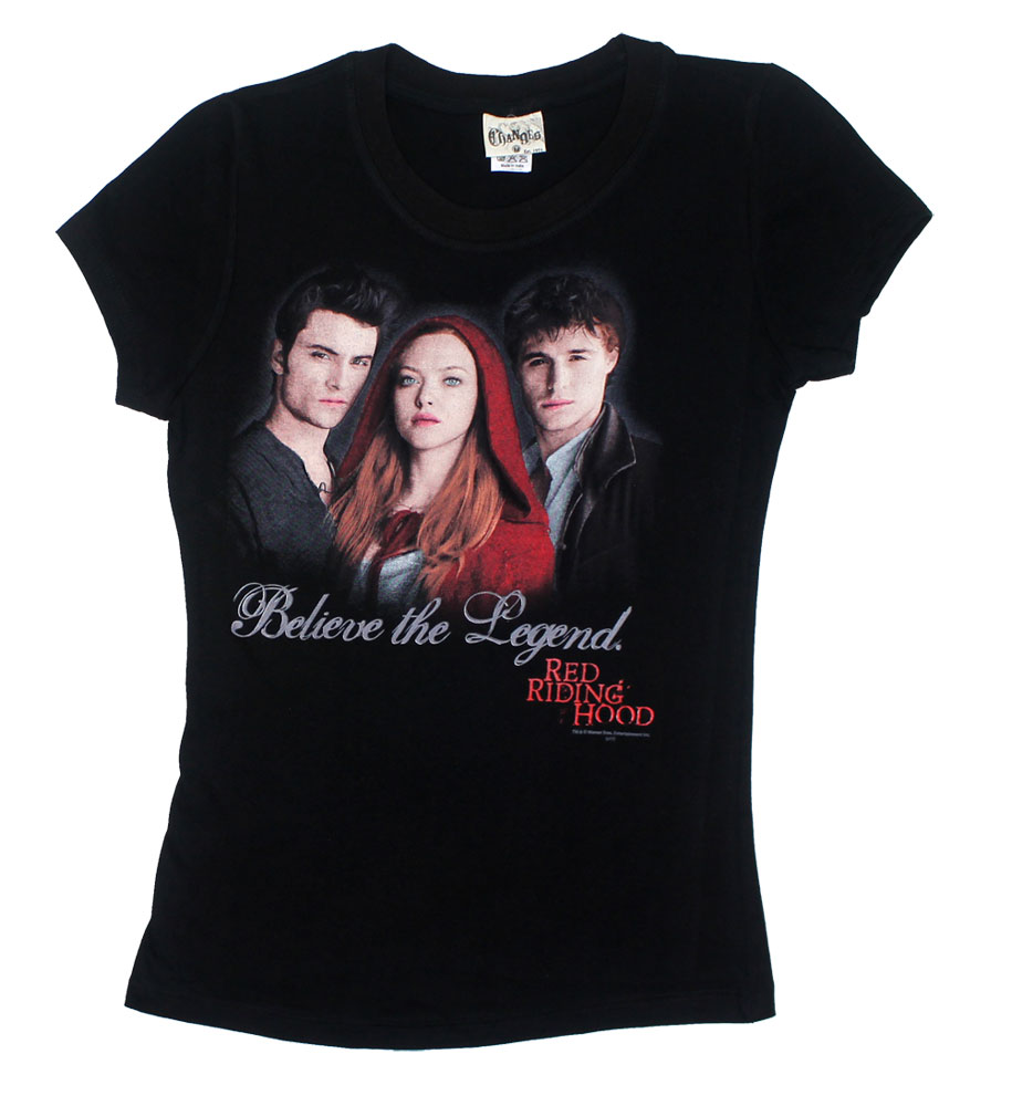 Believe The Legend - Red Riding Hood Sheer Women's T-shirt