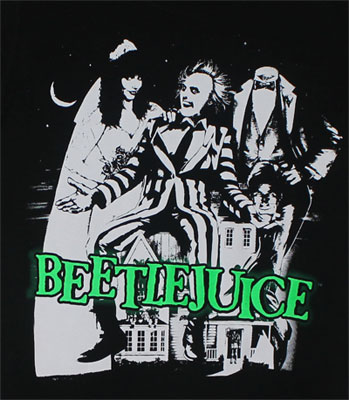Beetlejuice Sheer Women's T-shirt