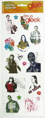 Set 2 - Glee Sticker Set