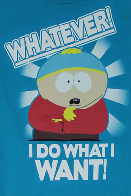 I Do What I Want - South Park Sheer Women's T-shirt