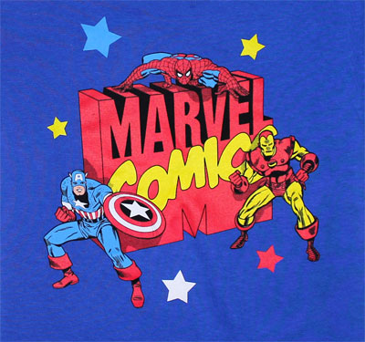 Blocky Marvel Logo - Marvel Comics Toddler T-shirt