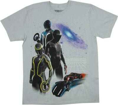 Disc Wars - Tron Sheer T-shirt