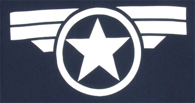 Classic Logo - Captain America - Marvel Comics T-shirt