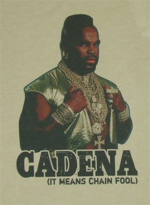 Cadena - Mr. T Sheer T-shirt