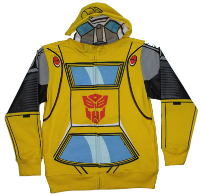 Bumblebee Costume - Transformers Juvenile Hooded Sweatshirt