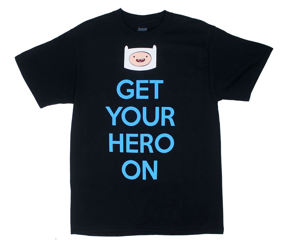 Get Your Hero On - Adventure Time T-shirt
