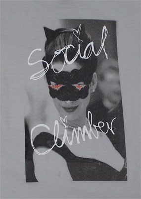 Social Climber - Dark Knight Rises Sheer Women's T-shirt