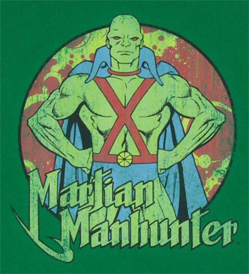 Martian Manhunter - DC Comics T-shirt