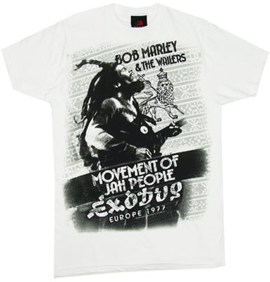 Exodus &#039;77 - Bob Marley Sheer T-shirt