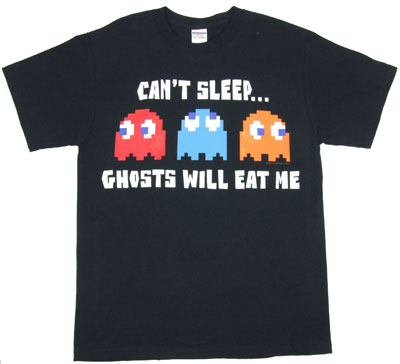 Can't Sleep - Pac-Man T-shirt